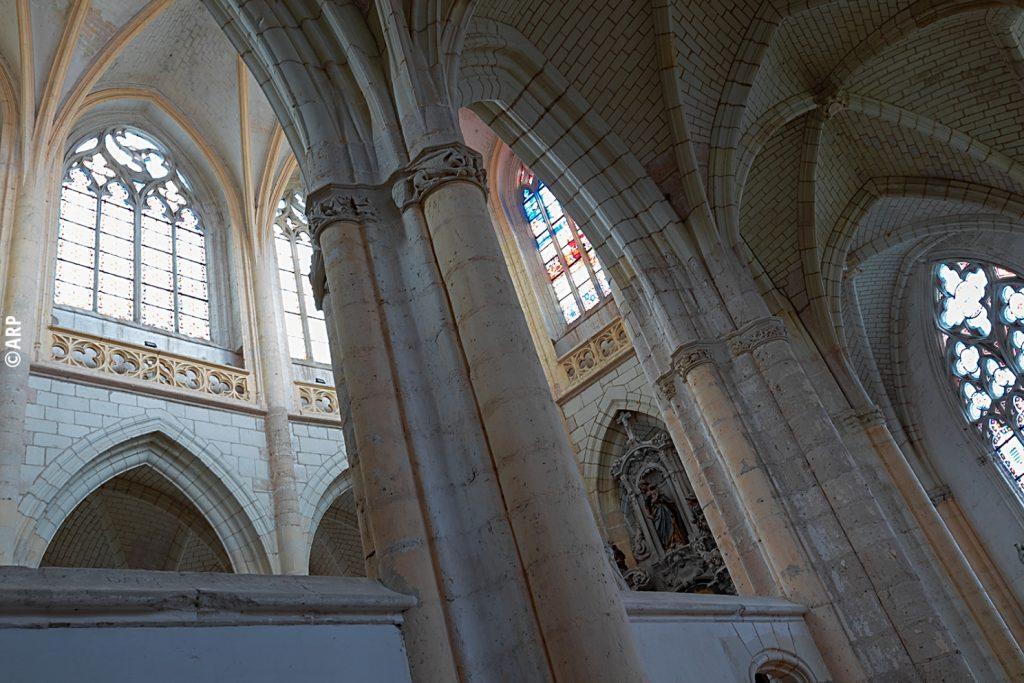 La chapelle de l'Abbaye de Pontlevoy. Photo ARP