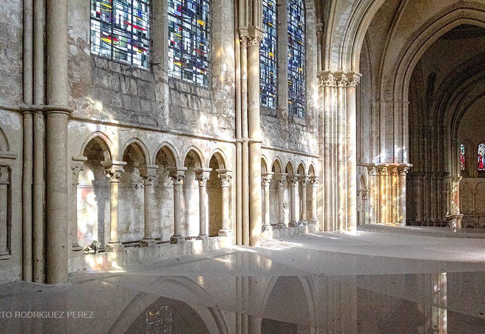 Triforium de l'Eglise Saint-Nicolas de Blois